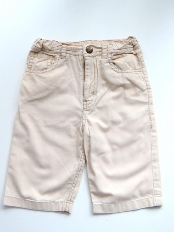 Kremowe spodnie rozmiar 68