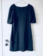 Szara sukienka na każdą okazję...
