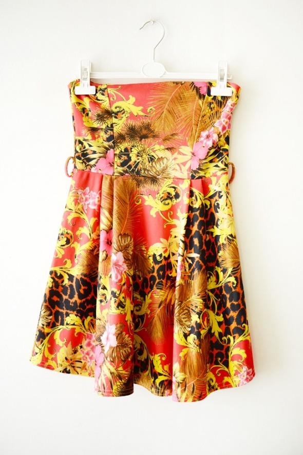 Suknie i sukienki tropikalna sukienka S M