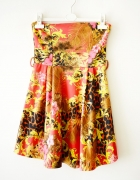 tropikalna sukienka S M