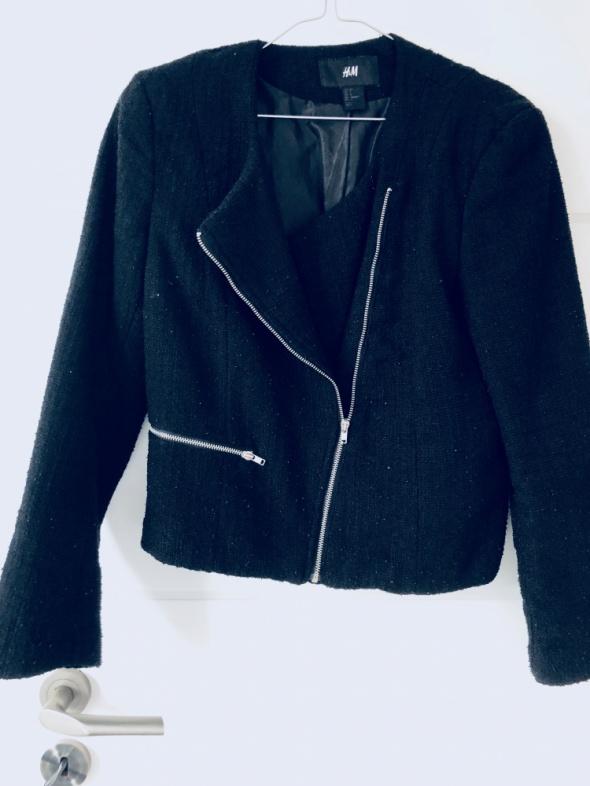 Czarna kurtka H&M
