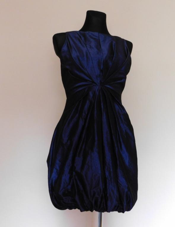Love fioletowa sukienka 38 40