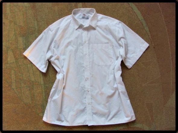 WÓLCZANKA biała klasyczna koszula męska 44