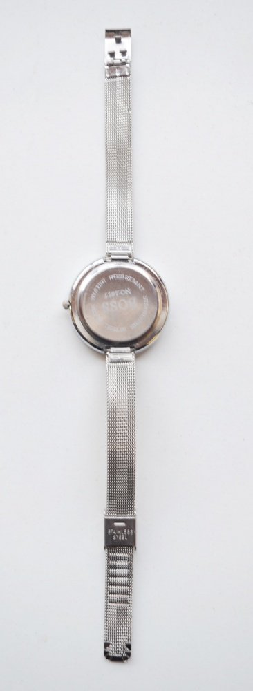 Zegarek Hugo Boss Bransoletka Srebrny Elegancki