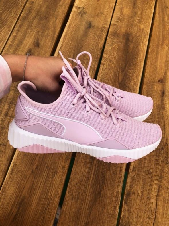 Defy sneakersy różowe puma