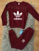 Komplet dresowy Adidas nowy damski S M L XL...