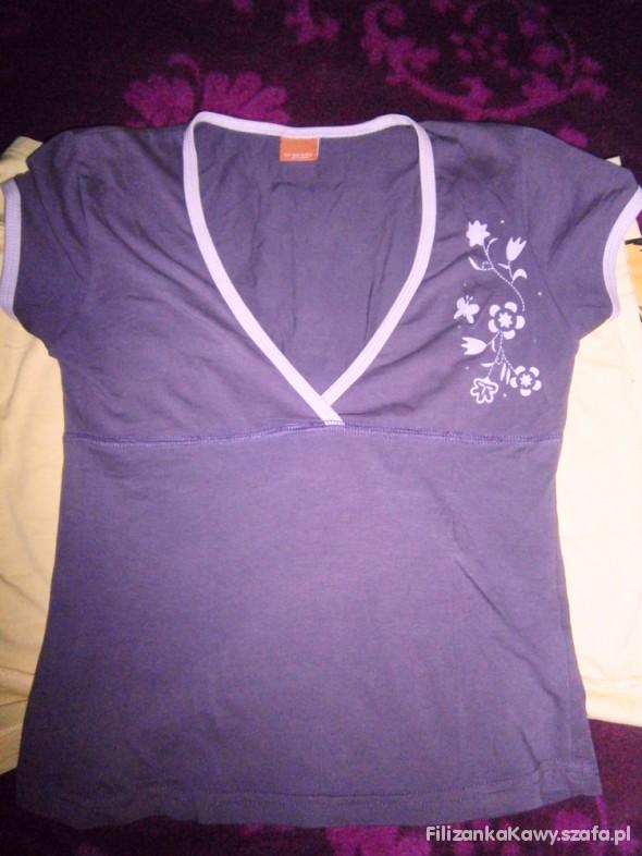 fioletowa koszulka