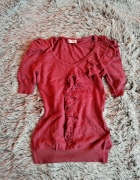 Malinowa bluzka Orsay