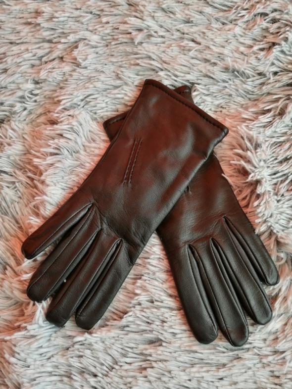 Rękawiczki eko skóra