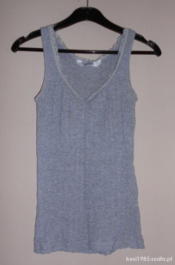 szara koszulka pull&bear xs