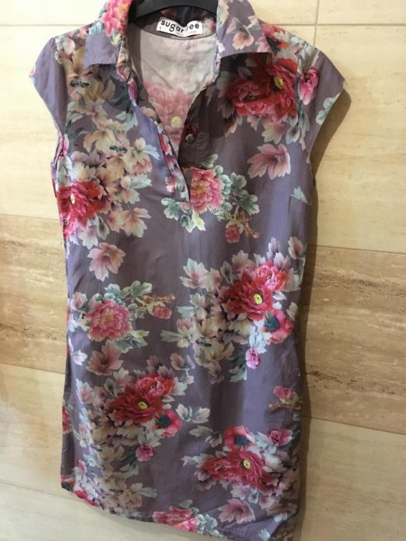 sukienka sugarfree kwiaty 36 S