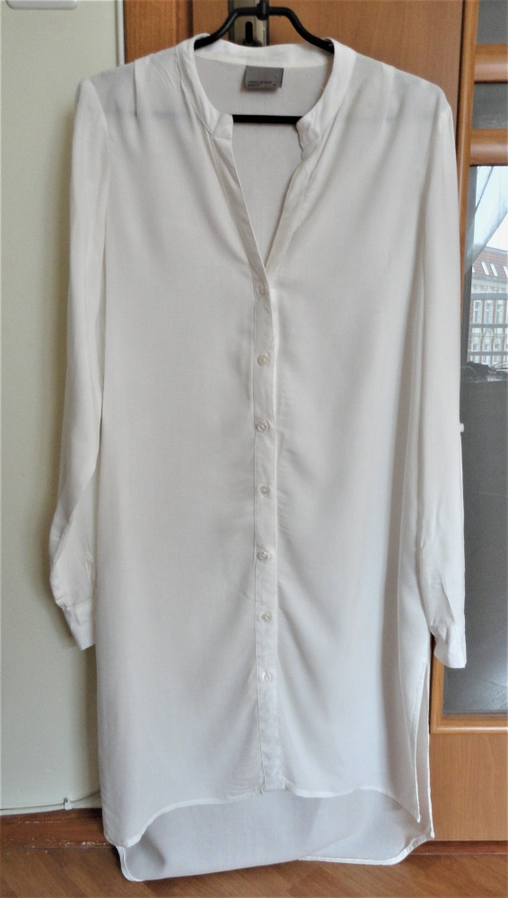 Długa biała koszula tunika Vero Moda xs s