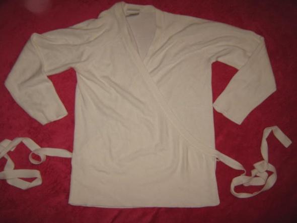 Zakładany wiązany sweterek NEXT 38 akrylowy...