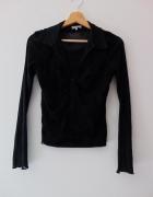 Czarna elegancka bluzka Marks&Spencer 42 XL