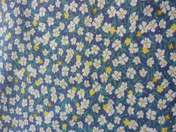 Suknie i sukienki Sukienka na co dzień XS w kwiaty błękitna