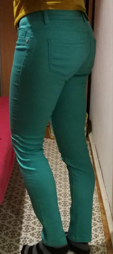 Zielone spodnie