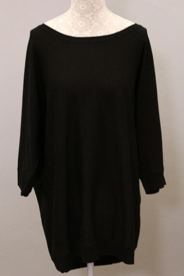 ONLY czarny dłuższy lużny sweter blazer kardigan nietoperz oversize L 40