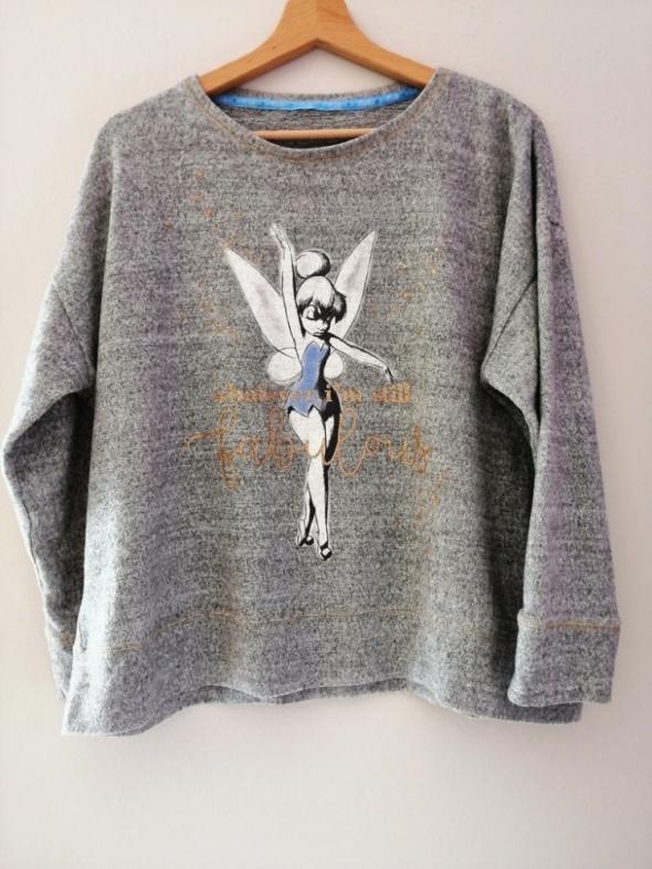 Szara bluza ciepła Disney 48 50
