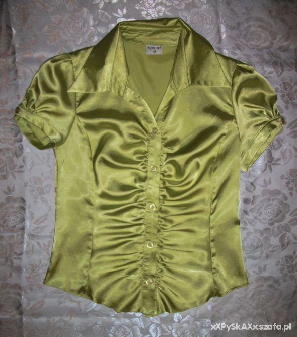 Satynowa koszula