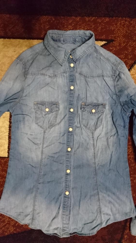 Jeansowa koszula rozmiar 36 S