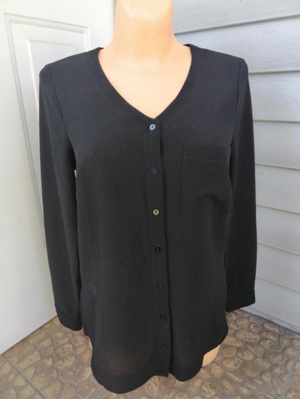 Czarna koszula L