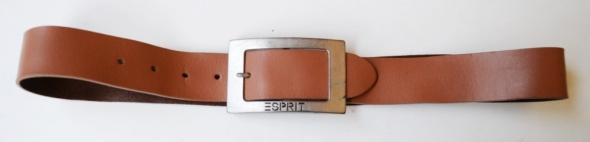 Pasek Brązowy Brąz Esprit 96 cm Karmelowy
