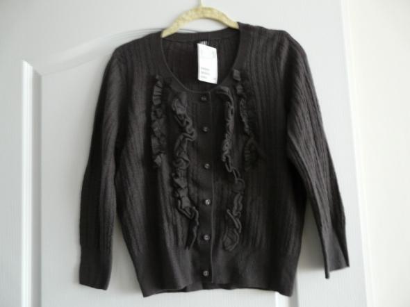 Sweterek popielaty H&M bluzeczka M sweter rozpinan
