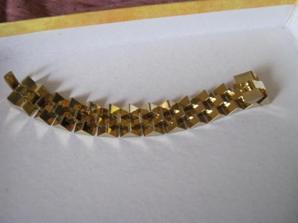 Oryginalna bransoletka pozłacana
