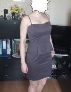 Sukienka z baskinką pretty girl M...