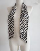 Twilly apaszka bandama animal zebra pantera leopard LV...
