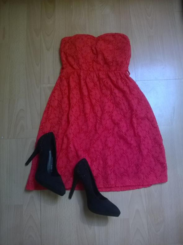 Koronkowa sukienka 34 36...