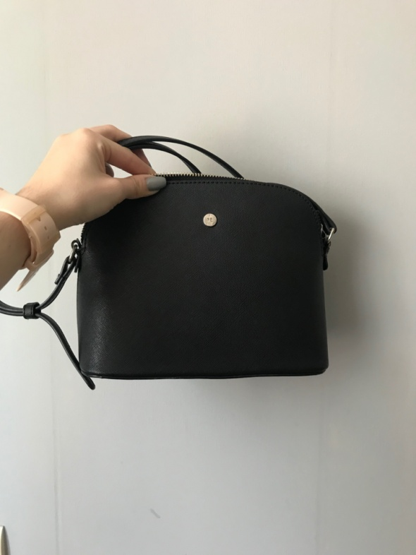 czarna torebka listonoszka Reserved mała