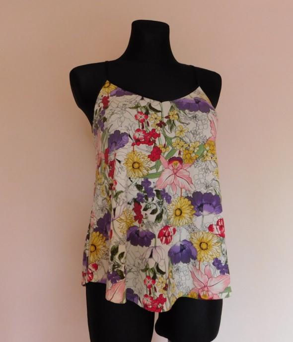 Tu bluzka kwiaty floral 36...