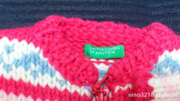 Prawie nowy sweterek United colors of Benetton