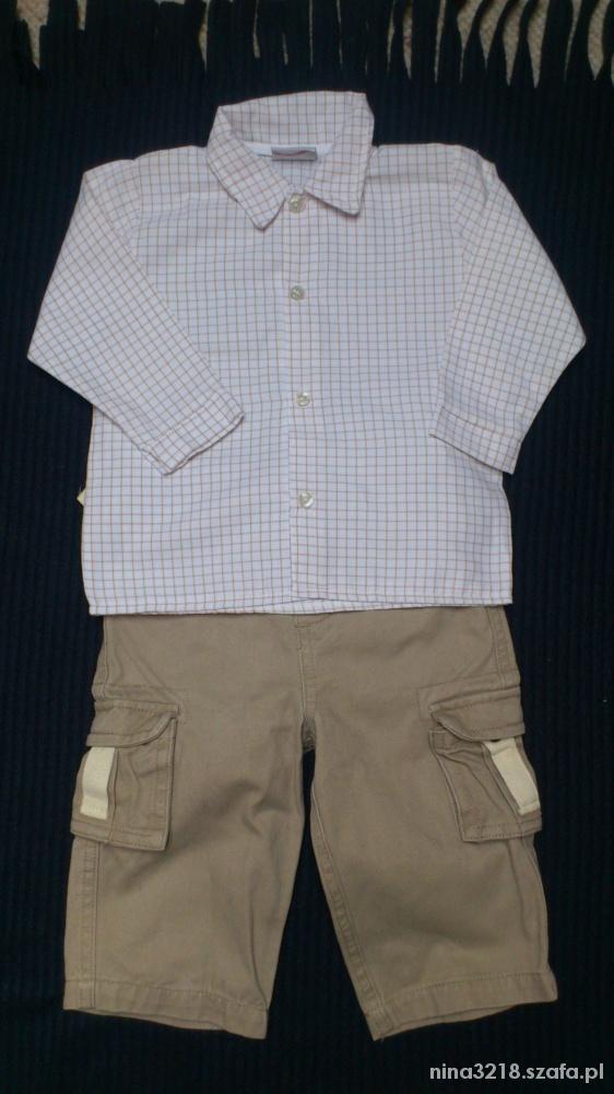 Koszula plus spodenki prawie nowe