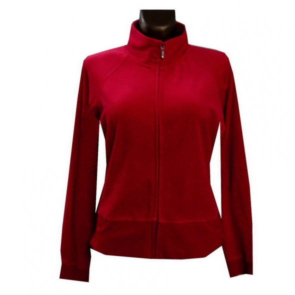 Czerwona Bluza 42 XL Bawełna...