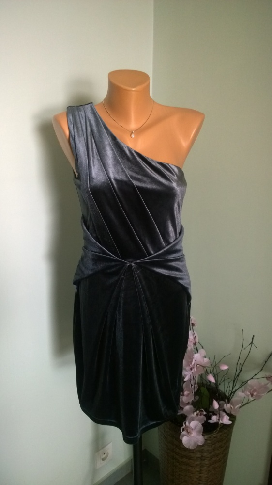 sukienka aksamitna S...