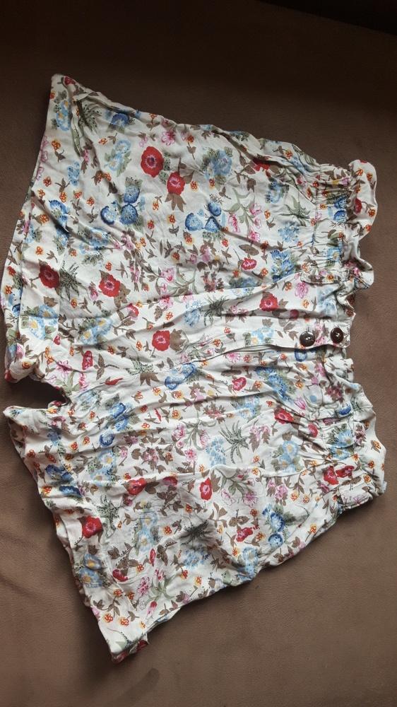 Spodenki Spodenki krótkie szorty kwiaty sisters point xs s