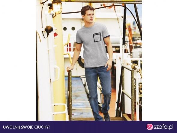 12681ba1 LIVERGY spodnie jeansy męskie slim fit XL 48 w Spodnie - Szafa.pl