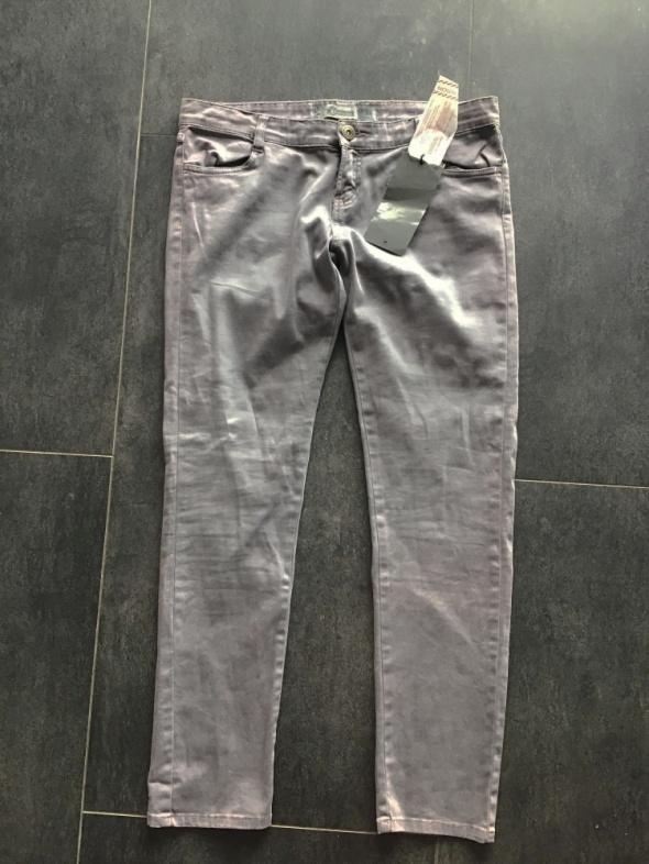 Nowe Spodnie stradivarius 44 xxl 42 xl szare bawełniane