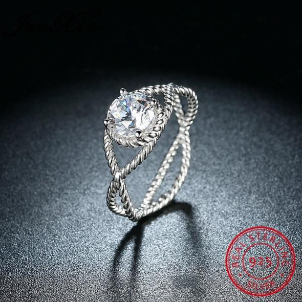 Oryginalny pierścionek srebro 925 nowy rozm 18 8