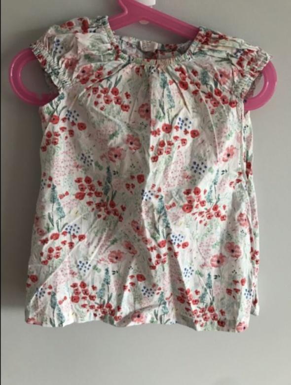 d8579dc6765fd4 Sukienka dziewczynka HM 6 do 9 miesięcy 74 cm bawełna w Sukienki i ...