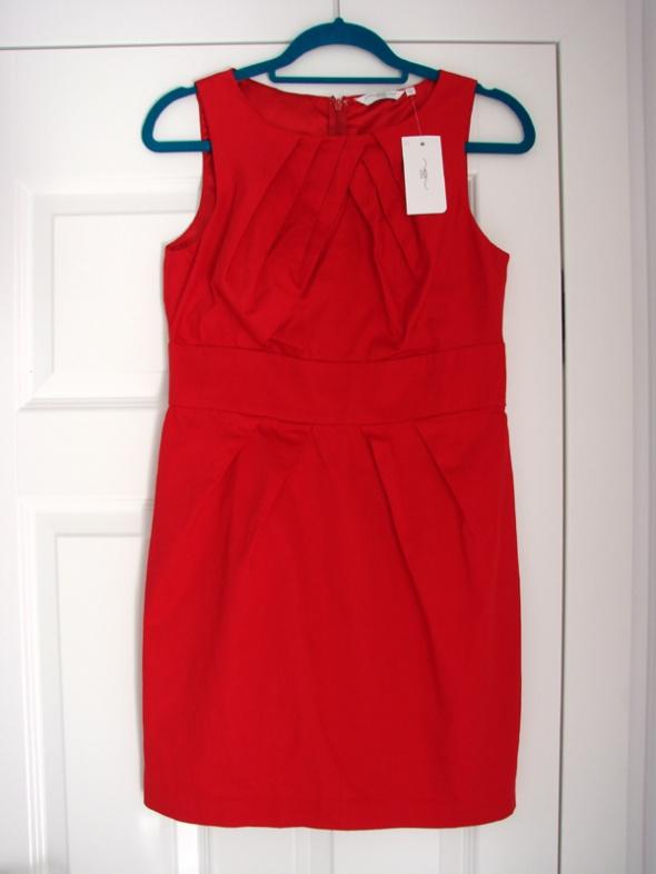 Czerwona sukienka mini New Look rozmiar 40