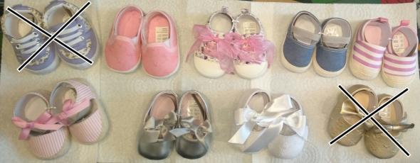 Nowe buciki niechodki 62 68 balerinki sandałki trampki w paseczki