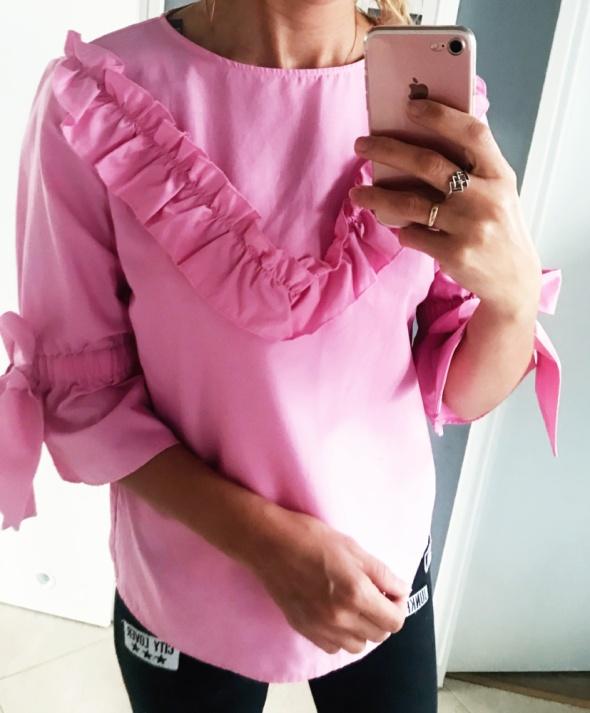 Rozowa cukierkowa bluzka xxs...