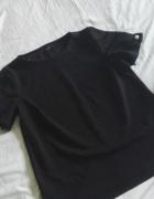 nowa bluka t shirt ozdobna biżuteryjna mohito 36 S czarna...