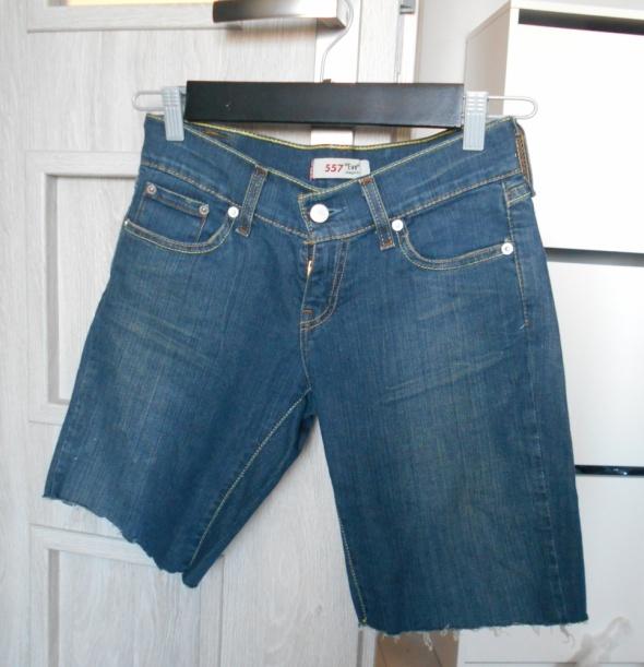 Levis szorty jeansowe spodenki jeans 557 vintage...