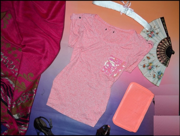 Koszulki różowa koszulka george