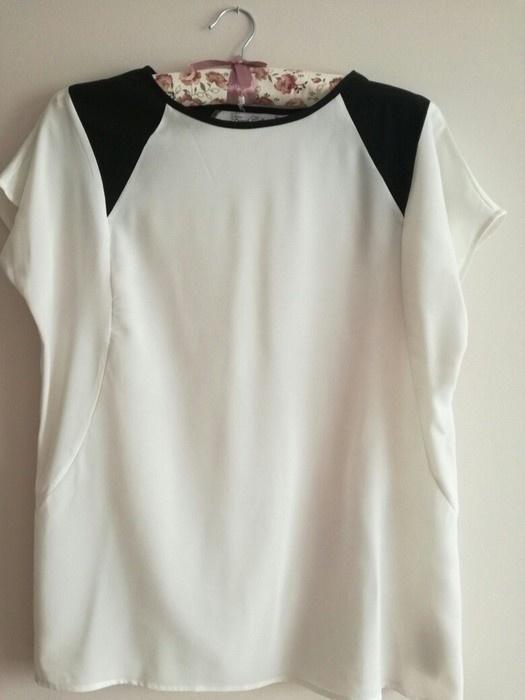 biała elegancka mgiełka L XL butik