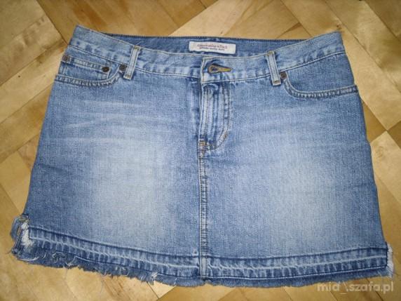 spodnica jeansowa mini Abercrombie and Fitch...